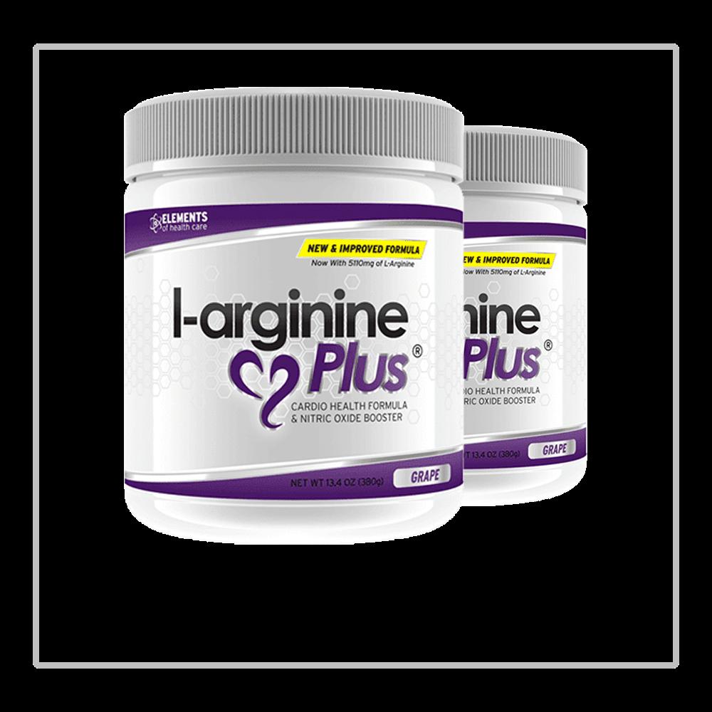 2 Bottles of L-arginine Plus
