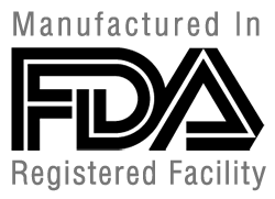 Manufactured in FDA Approved Facility
