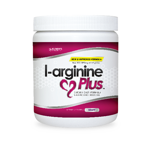 Bottle of L-arginine Plus