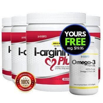 L-arginine Plus + Omega 3 Fish Oil