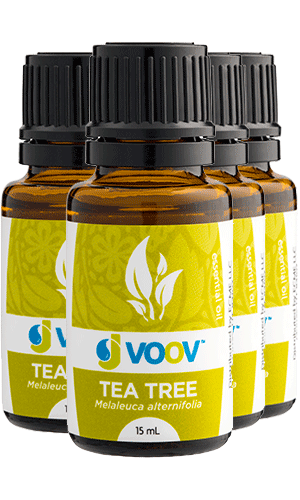 4 Bottles of Tea Tree Essential Oil