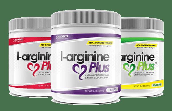 L-arginine Plus - All 3 Flavors
