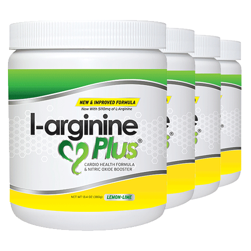 Buy 4 Bottles of L-arginine Plus