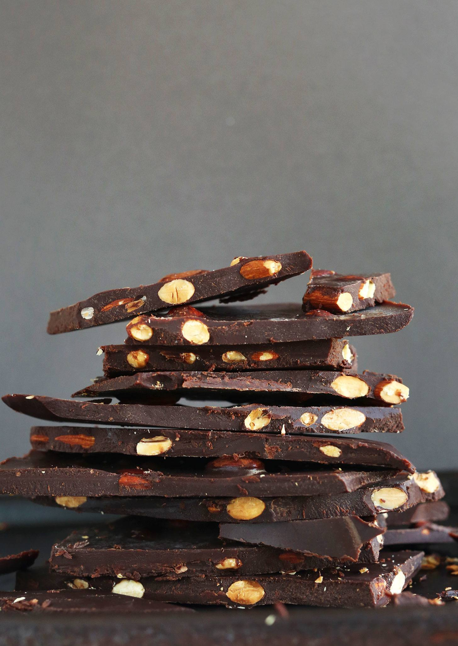 dark chocolate recipes