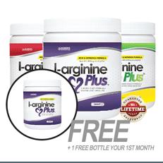 l-arginine plus | all 3 bottles of L-arginine plus