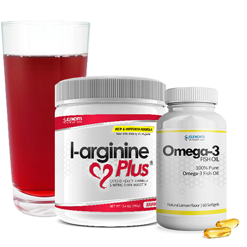 L-arginine Plus and Omega-3 Fish Oil