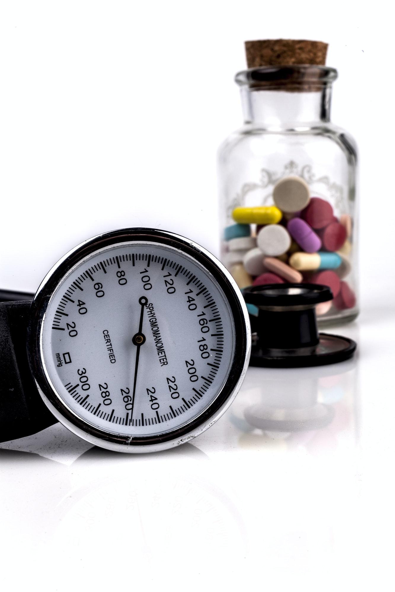 types of blood pressure medicine