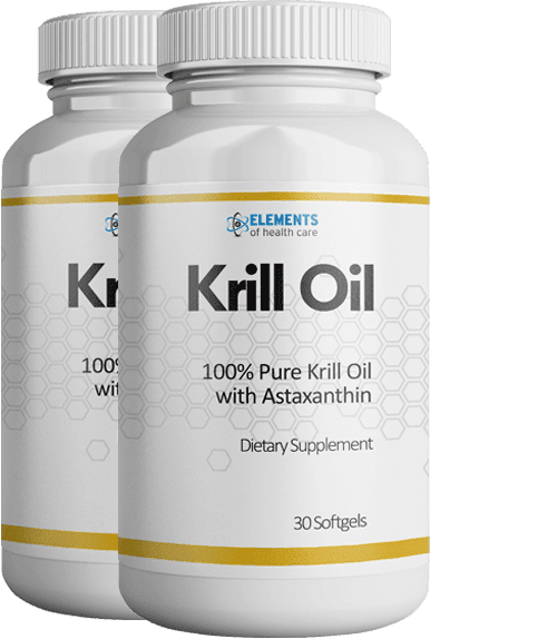 2 Bottles of Krill Oil with Astaxanthin