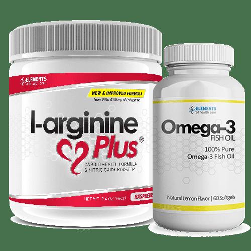L-arginine Plus & Omega 3