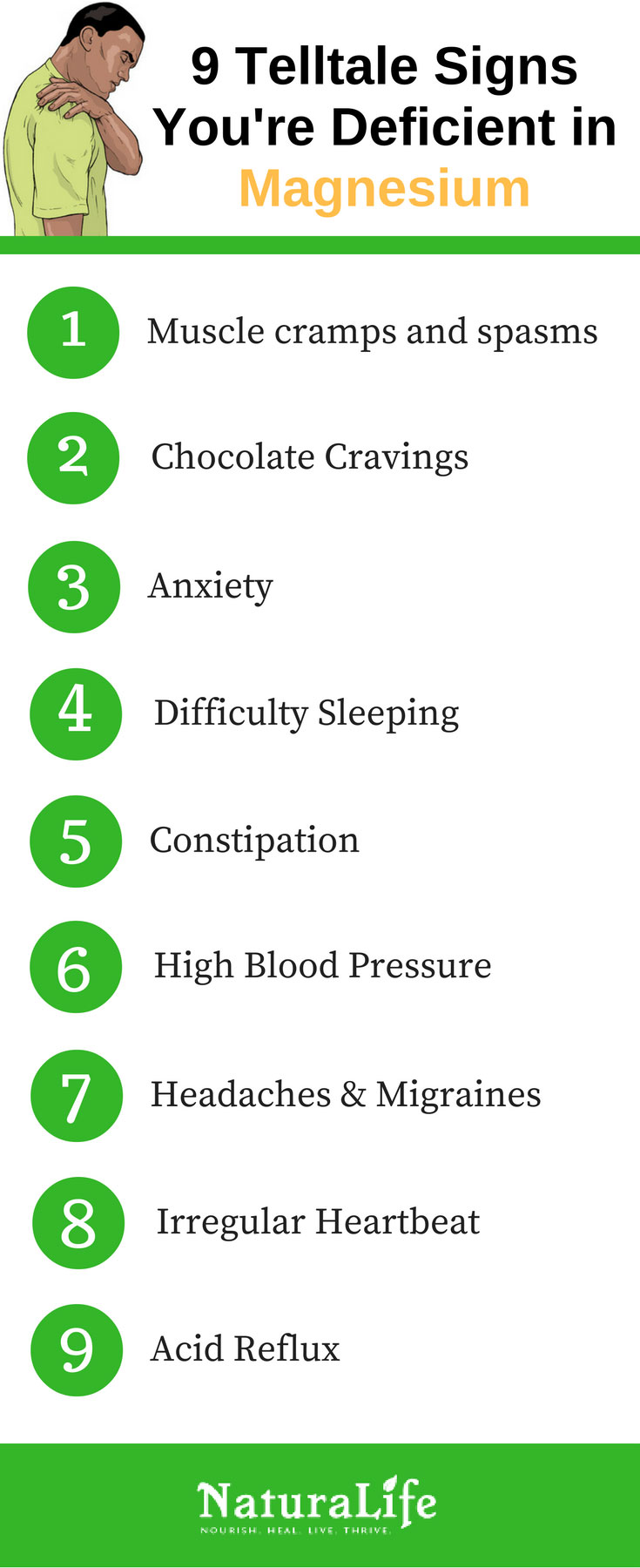 Signs That You Need More Magnesium