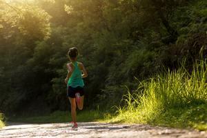 Morning exercise running