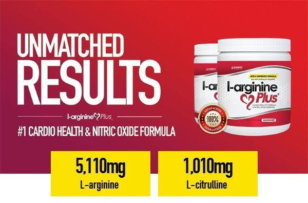 L-arginine Plus with L-arginine & L-citrulline