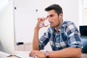staying hydrated and cardiovascular health