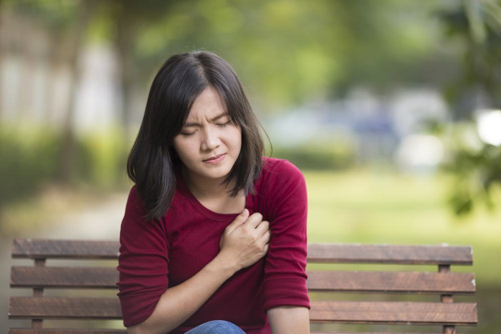 heart disease affects women more than men