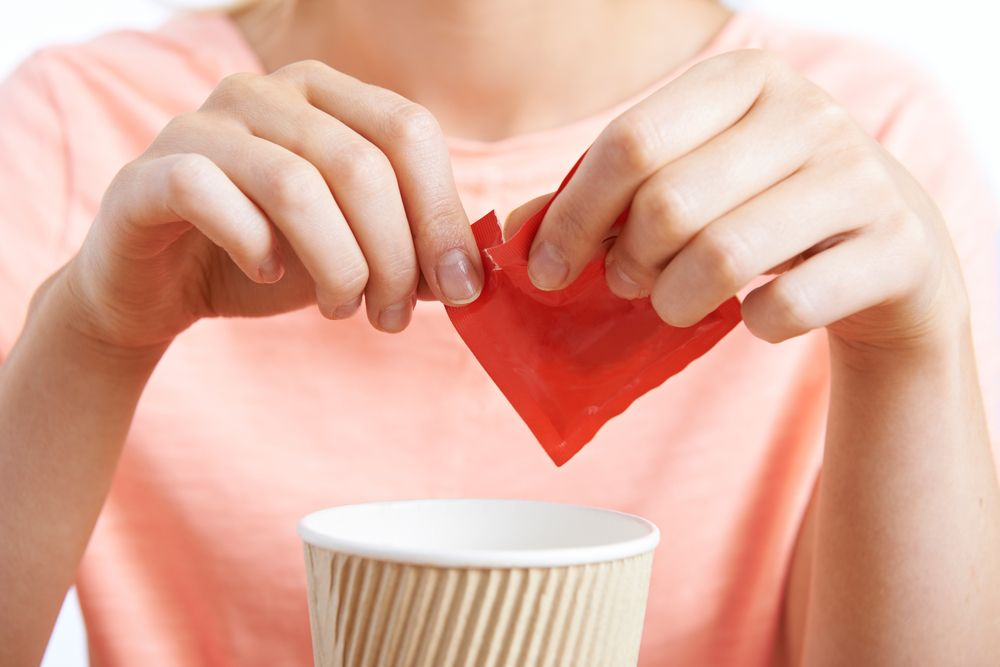 Artificial sweeteners are a popular substitute for sugar in coffee, sodas, baking, and more. An observational study found that artificial sweeteners are leading to weight gain instead of weight loss--contrary to common thought. Artificial Sweeteners Are Leading to Weight Gain If something is labeled