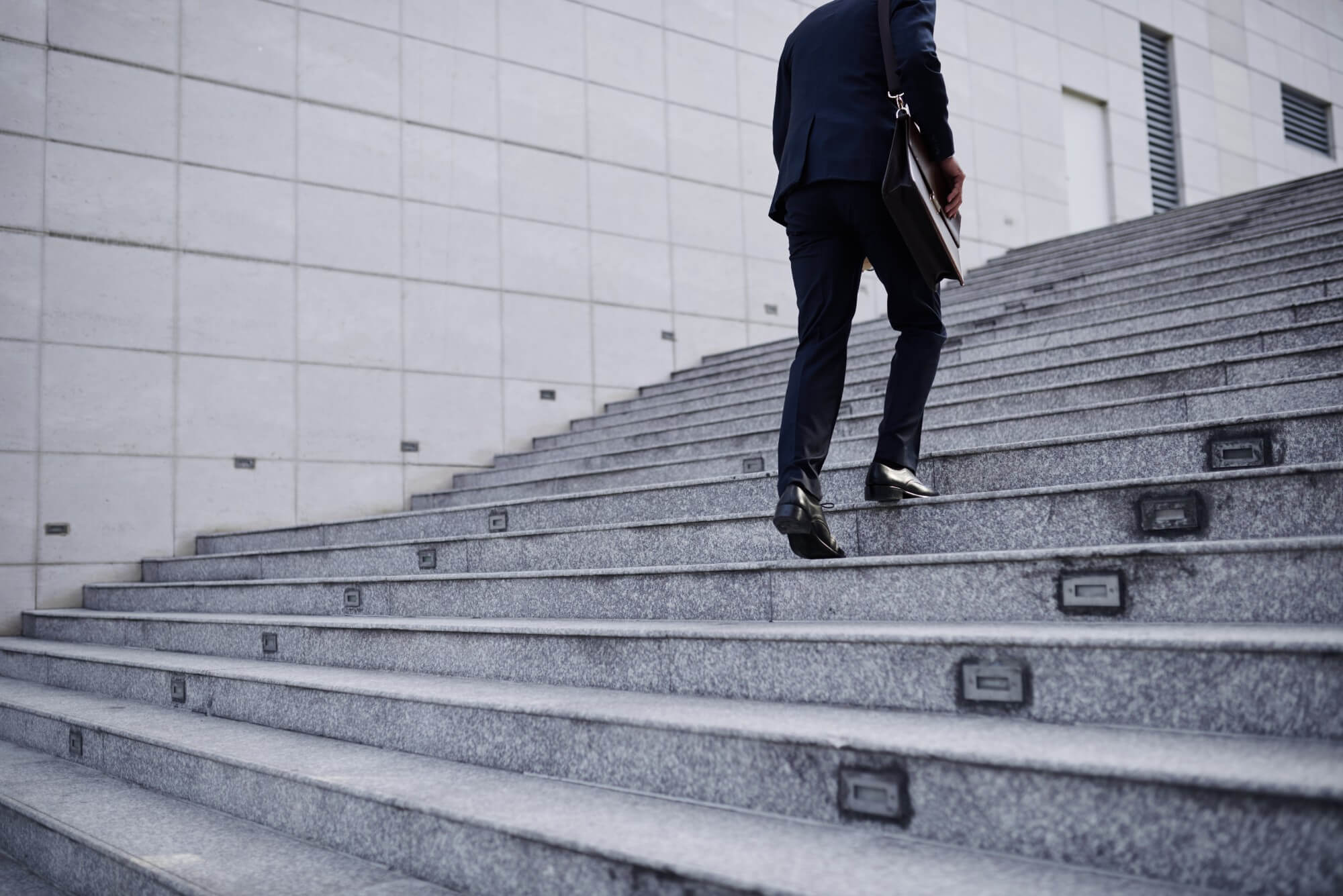 Heart Health Benefits of Taking the Stairs