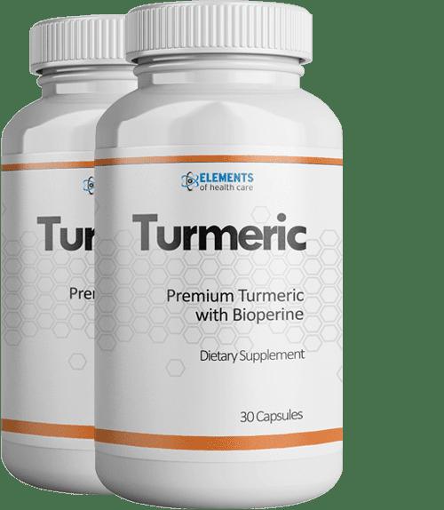 2 Bottles of Turmeric