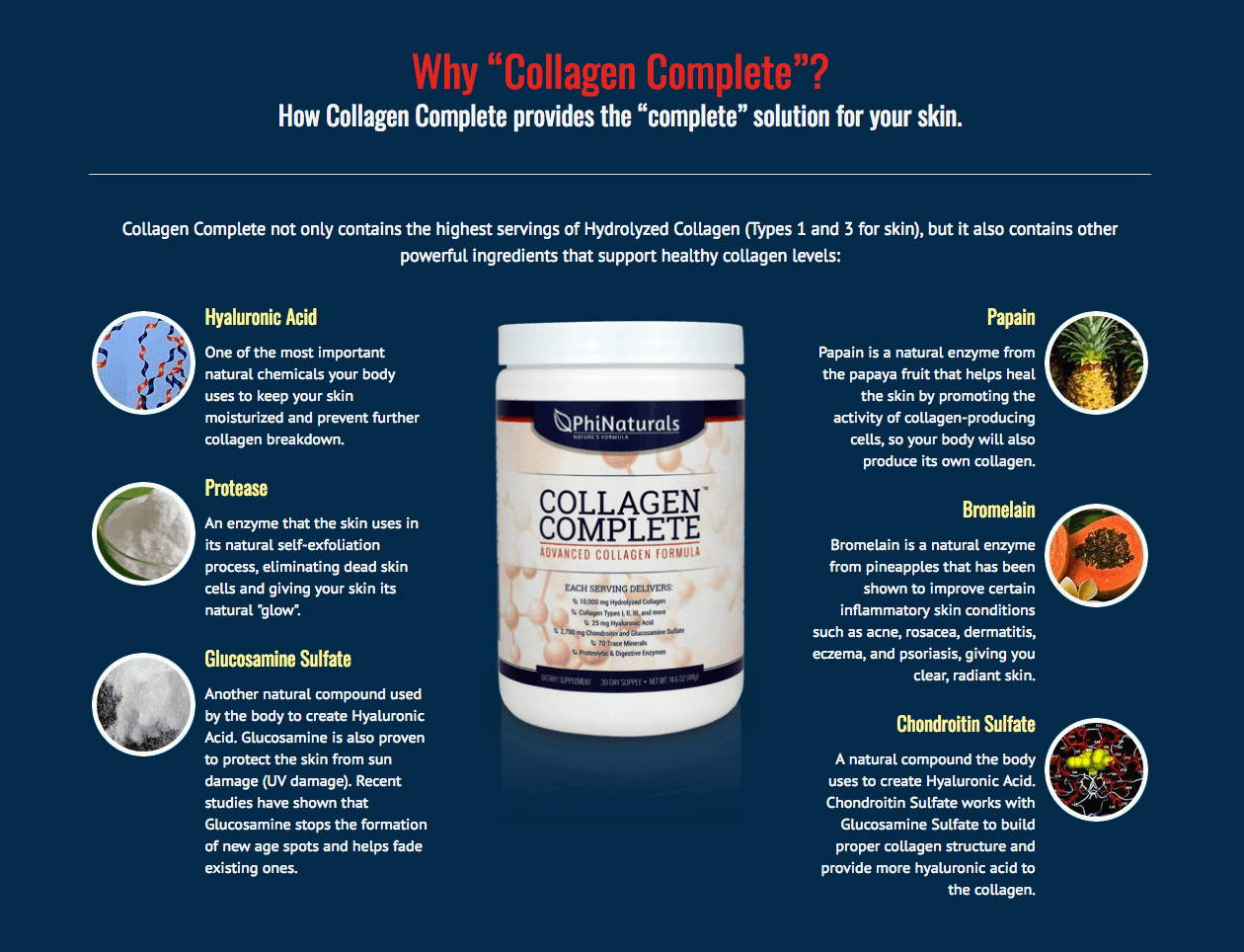 Why Take Collagen Complete